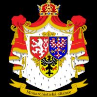 Logo Koruna Česká (monarch.str.Čech, Moravy a Slezska)